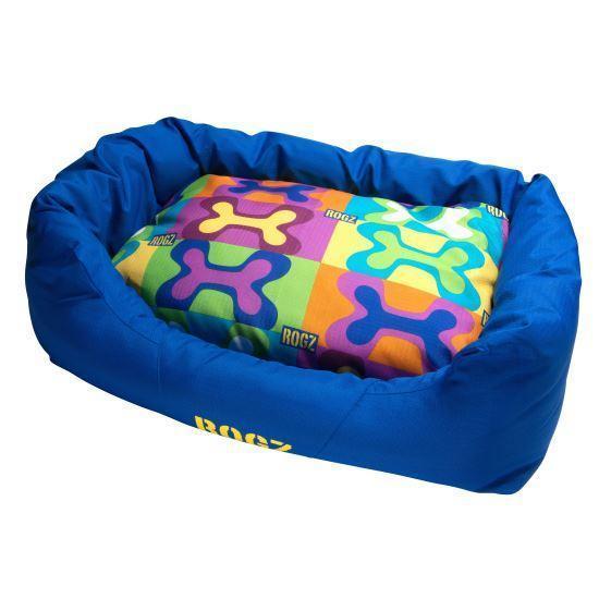 Лежак для собак Rogz Spice Podz POP ART L - 88 х 55 х 26 см