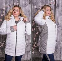 Куртка демисезонная для пышных женщин, с 48 по 82 размер, фото 1