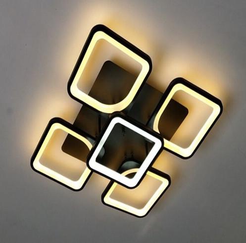 Люстра ЛЭД  (черная\белая) 1500 -1 (650), фото 1