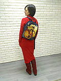 Джинсовый рюкзак Сказочный кот, фото 5