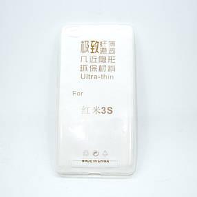 Чехол TPU Ultrathin 0.33mm Xiaomi Redmi 3 soft-clear, фото 2