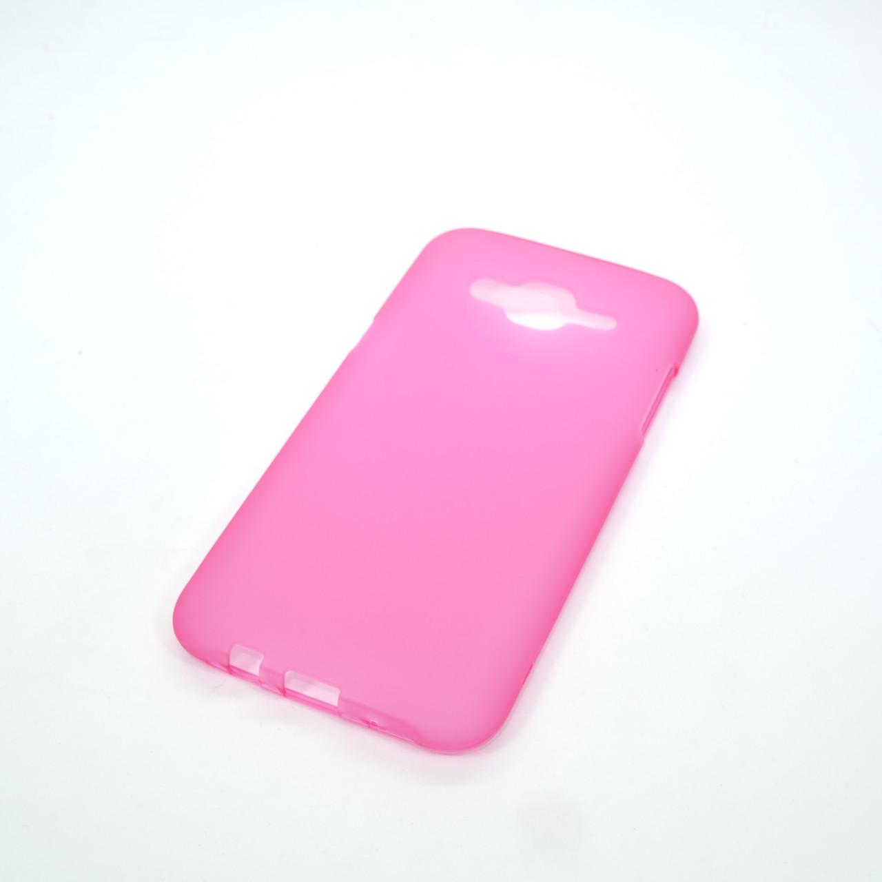 Чехол TPU bamper Samsung Galaxy J500 pink