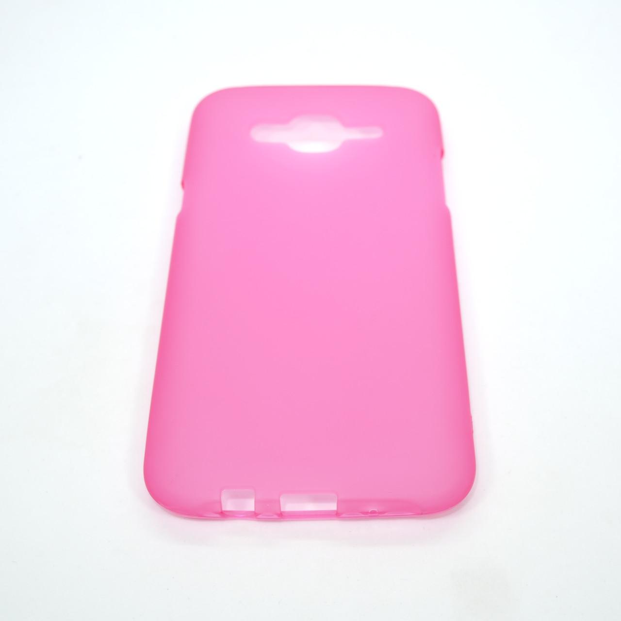 TPU bamper Samsung Galaxy J500 pink J5 (J530) 2017 Для телефона