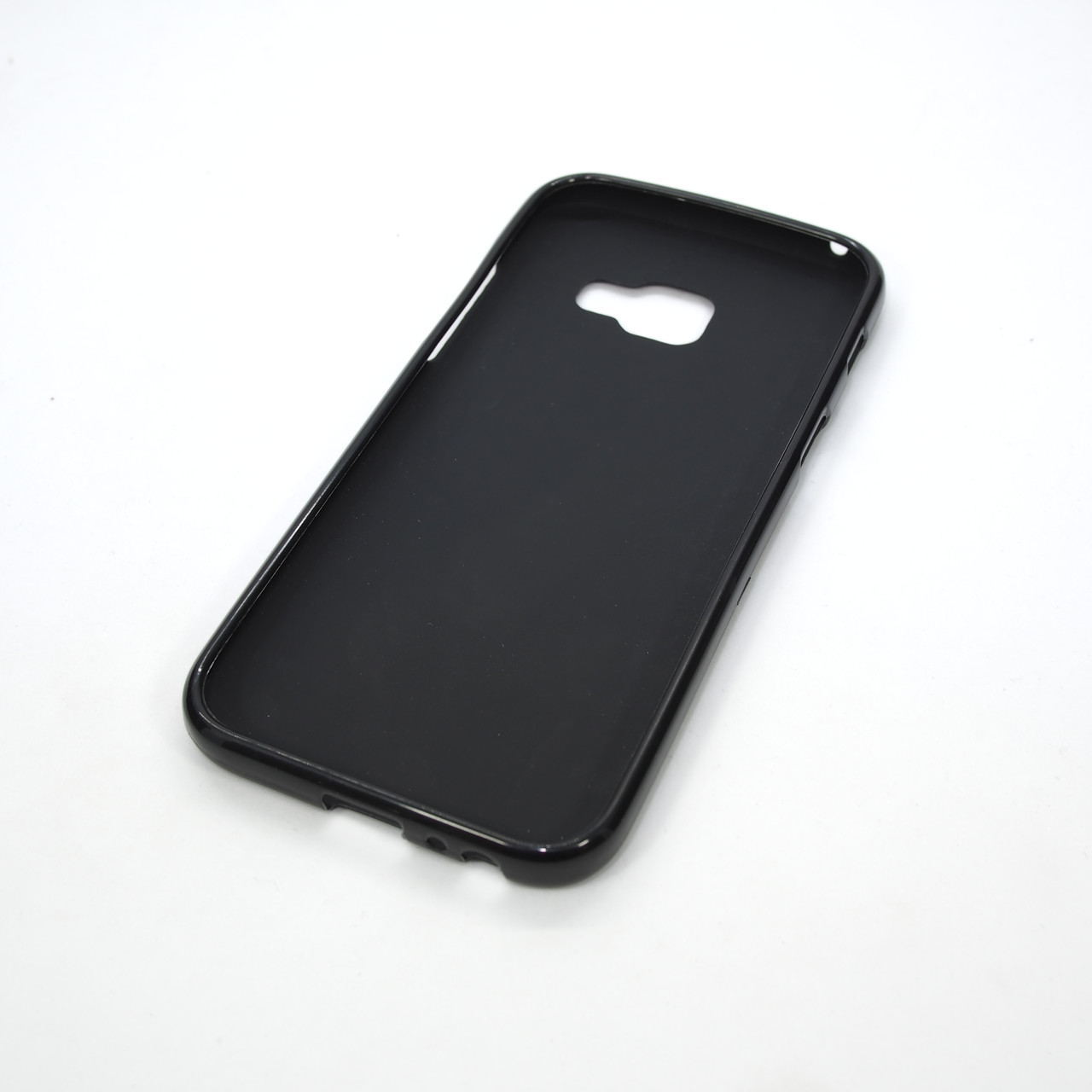 TPU Samsung A320 black Galaxy A3 (A320) 2017 Для телефона