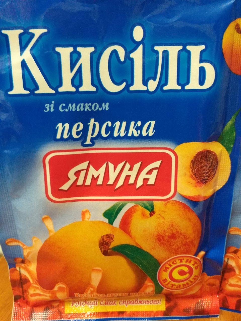 Кисель вкус Персика 65 грамм