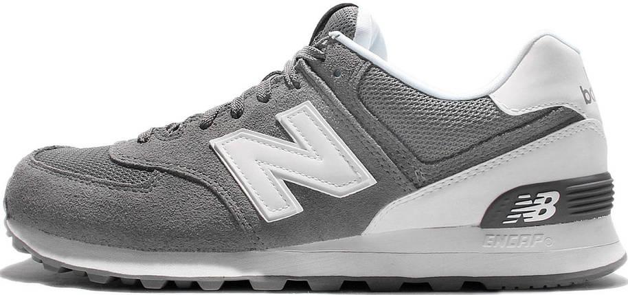 Кроссовки New balance 574 ML Grey/White, фото 2