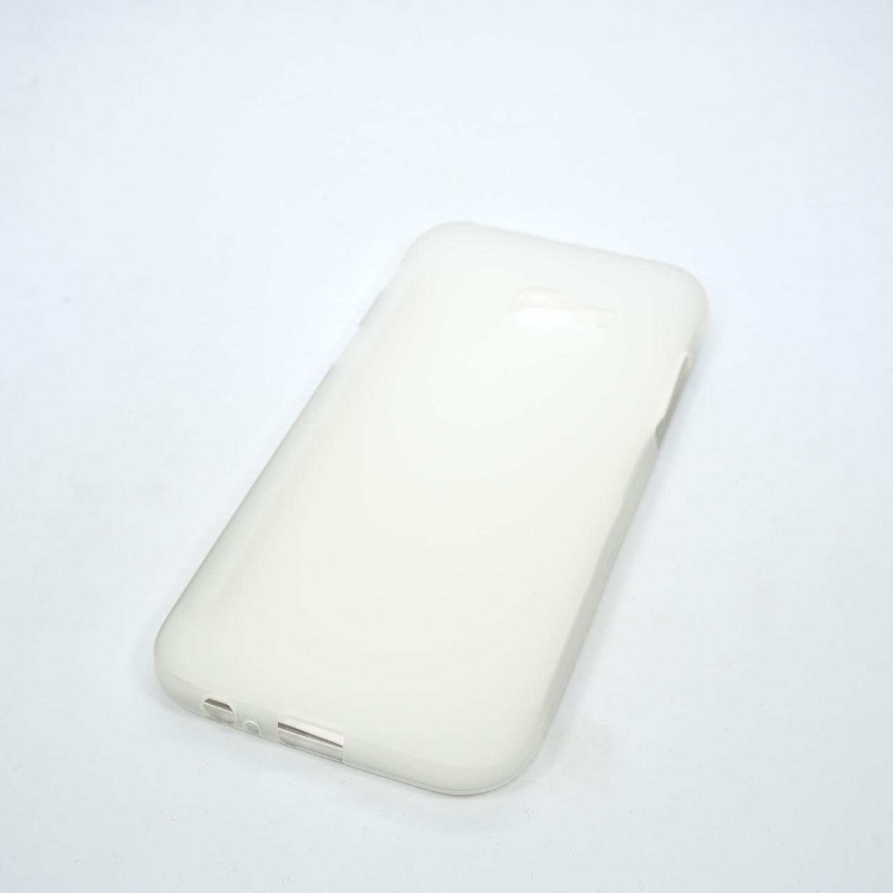 Чехол TPU Samsung A520 white Galaxy A5 (A520) 2017 Для телефона