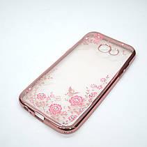 Чехол TPU bamper Samsung Galaxy A520 pink, фото 3