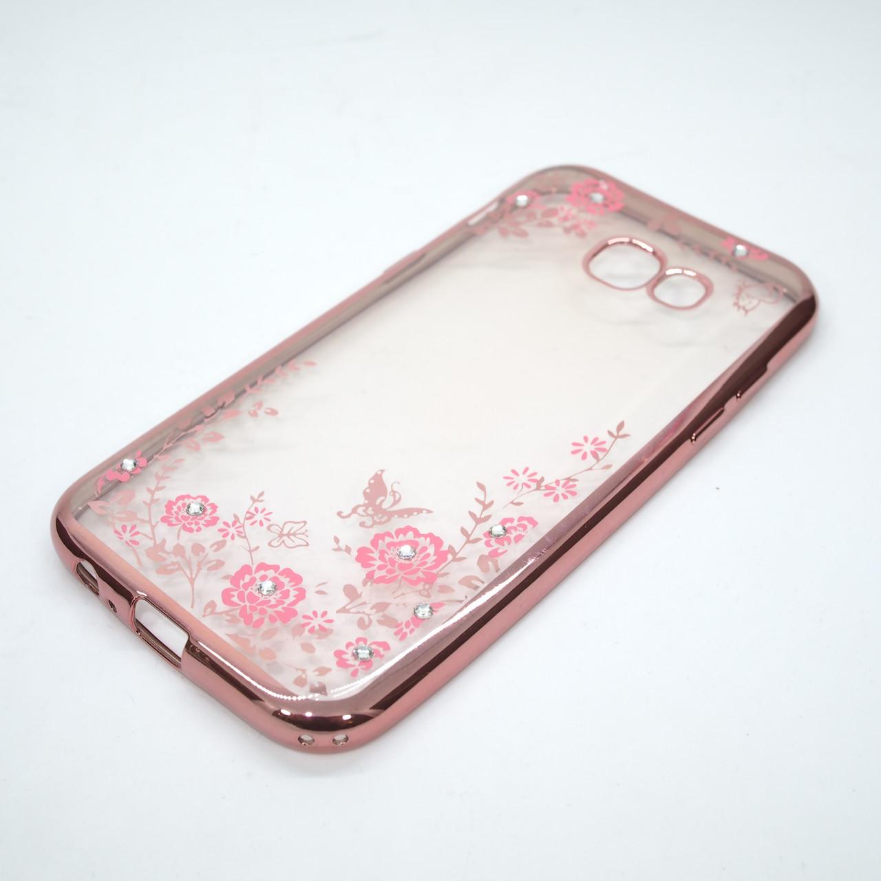 Чехол TPU bamper Samsung Galaxy A520 pink
