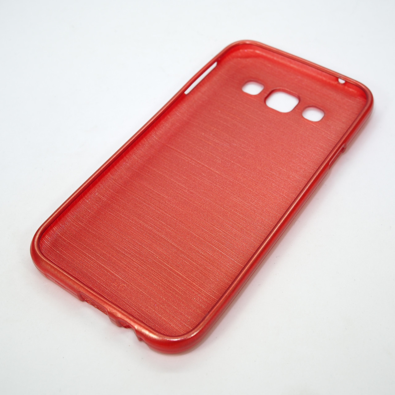 TPU Perl Lines Samsung Galaxy E5 red