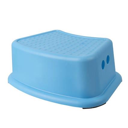 Детская ступенька для ванной и унитаза синяя AWD02091465
