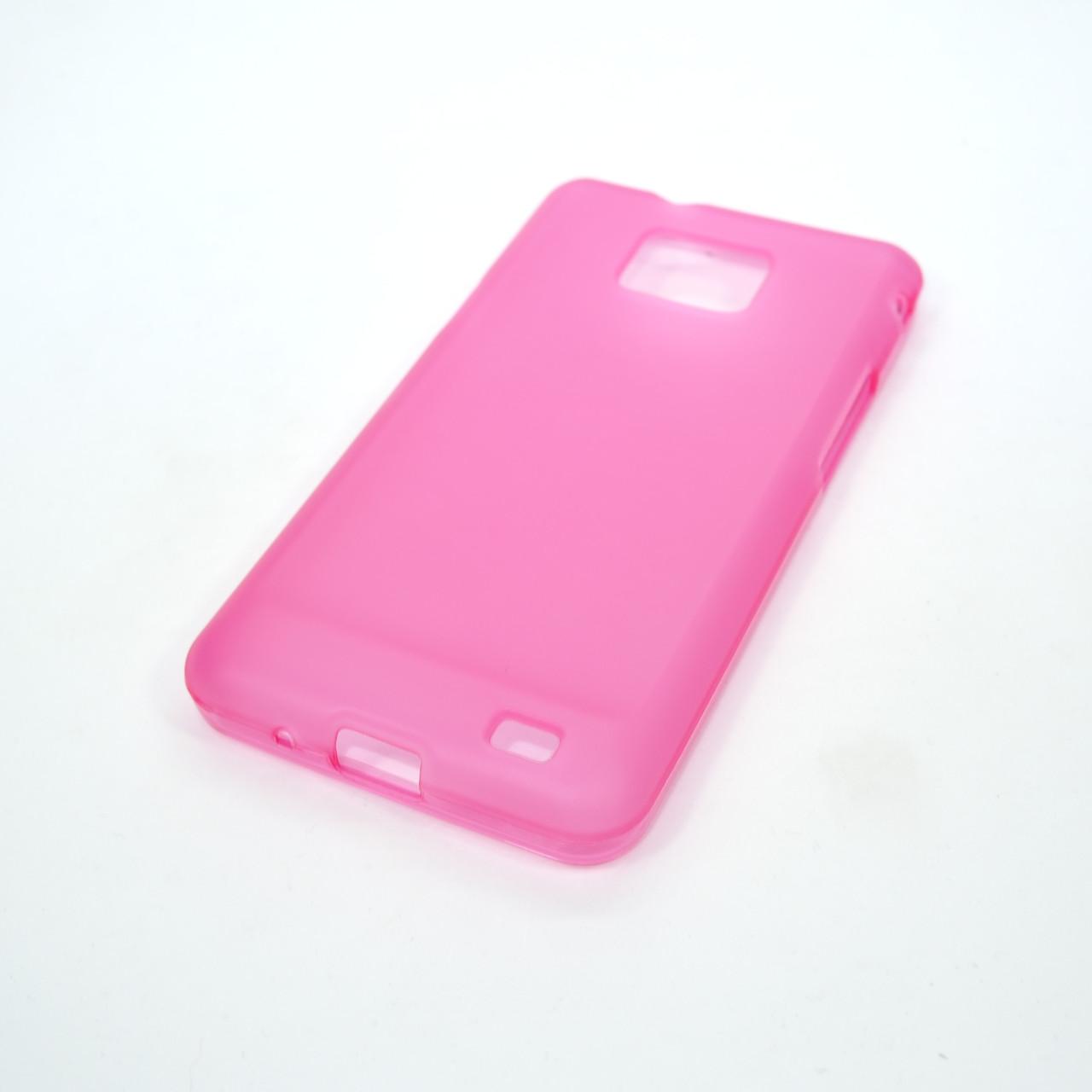 Чехлы для Galaxy S Series (остальные модели) TPU Samsung i9100 pink
