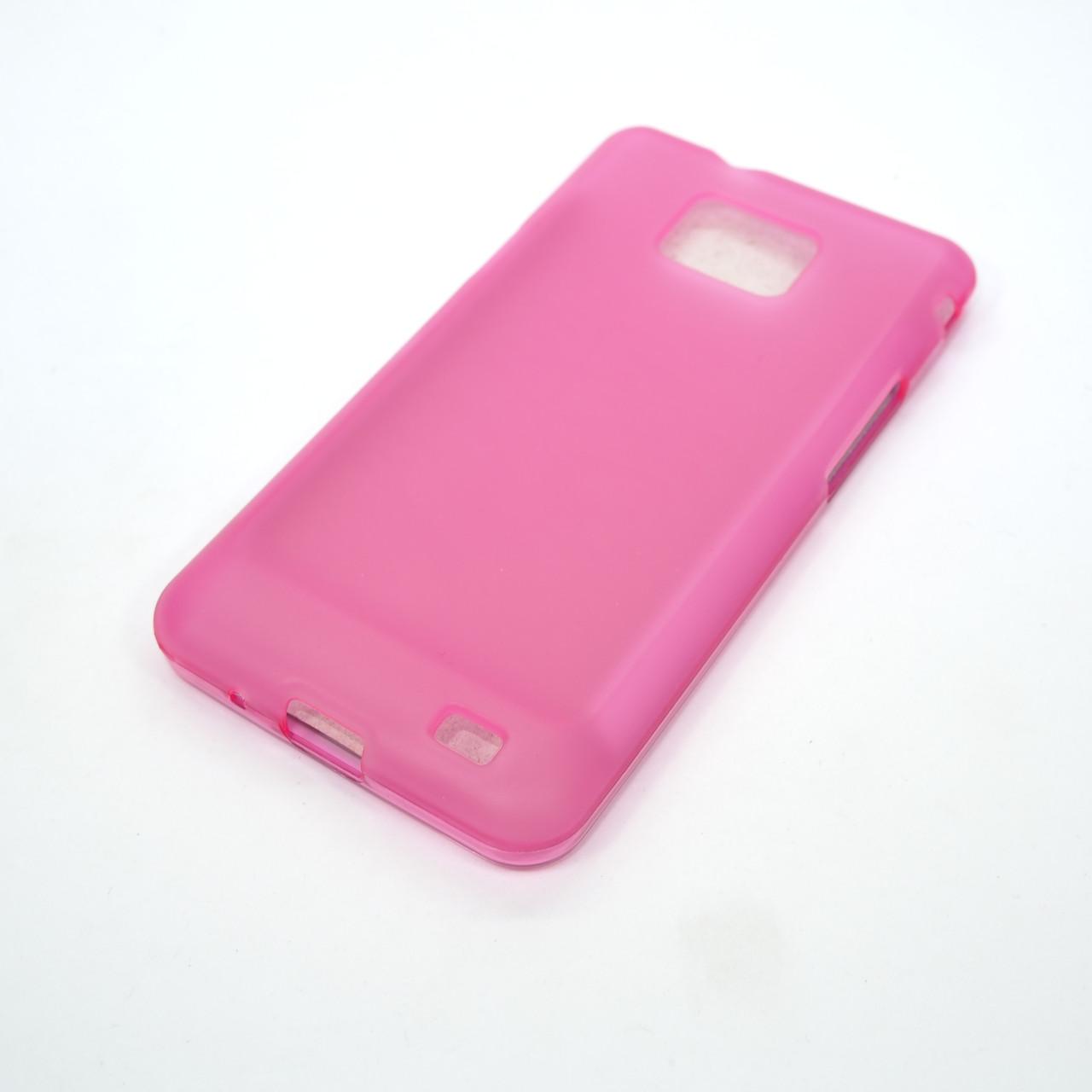 Чехлы для Galaxy S Series (остальные модели) TPU Samsung i9100 pink Для телефона S2