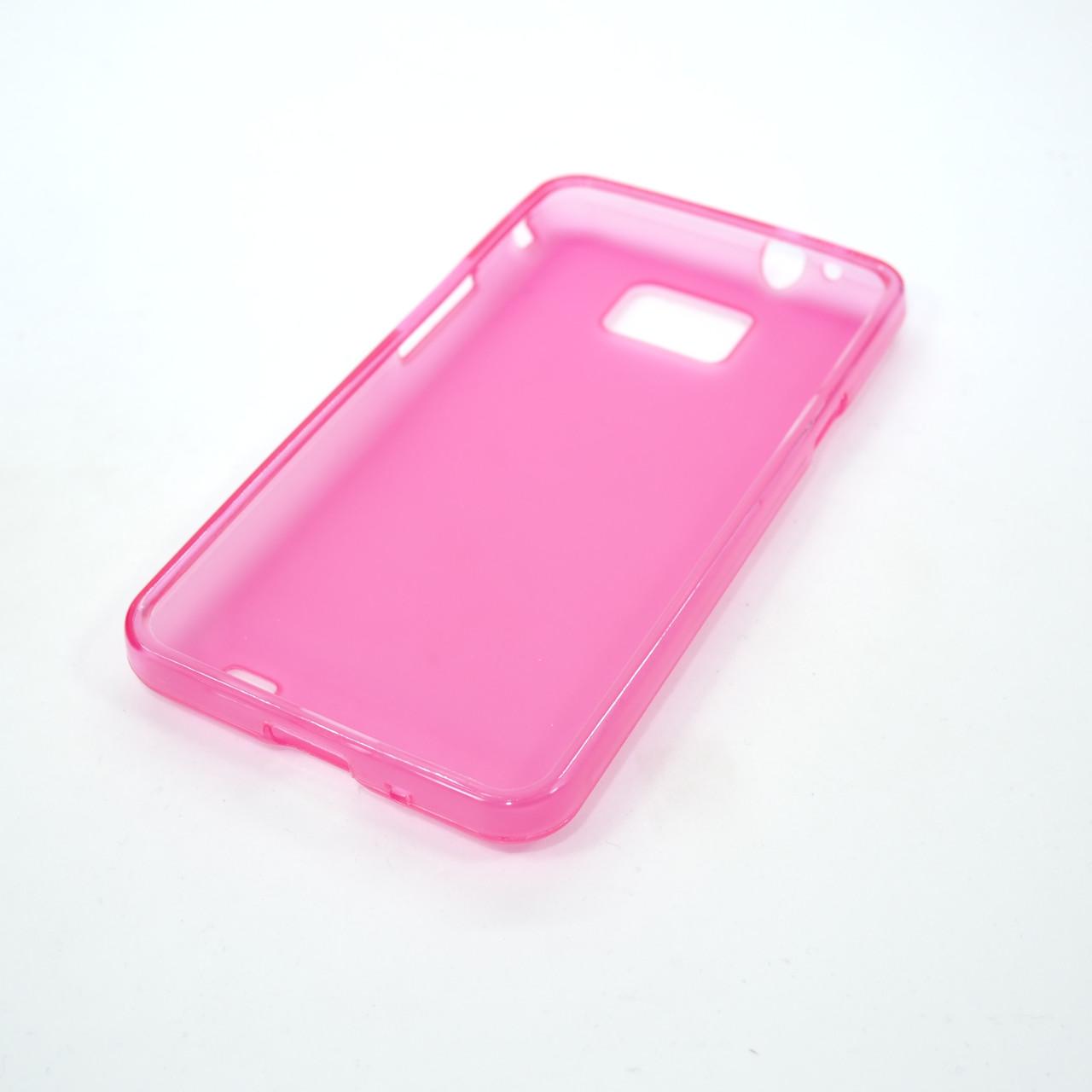Чехлы для Galaxy S Series (остальные модели) TPU Samsung i9100 pink Для телефона