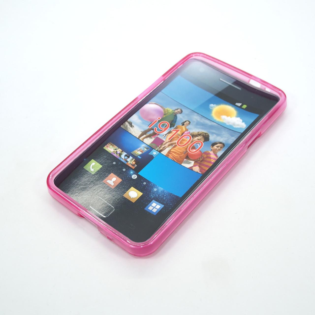 TPU Samsung i9100 pink