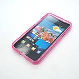 Чехол TPU Samsung i9100 pink, фото 5