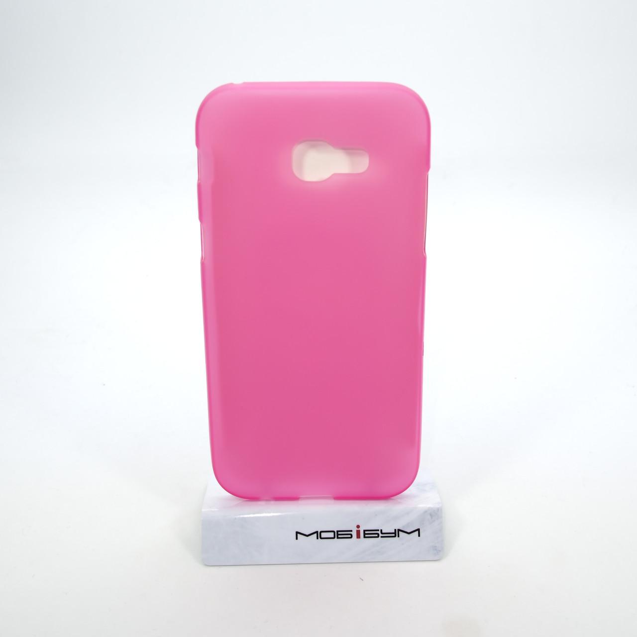 Чехол TPU Samsung A520 pink