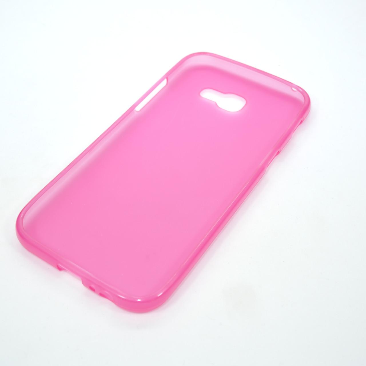 TPU Samsung A520 pink Galaxy A5 (A520) 2017 Для телефона