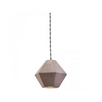 Светильник подвесной NOWODVORSKI Geometric 9697 бетон, фото 2
