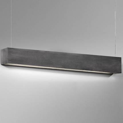 Светильник подвесной NOWODVORSKI Stone Gray 7015 серый, фото 2