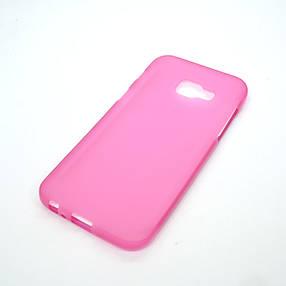 Чехол TPU Samsung A320 pink, фото 2