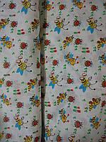 Ситец белоземельный детский пчёлы (95) Узбекистан