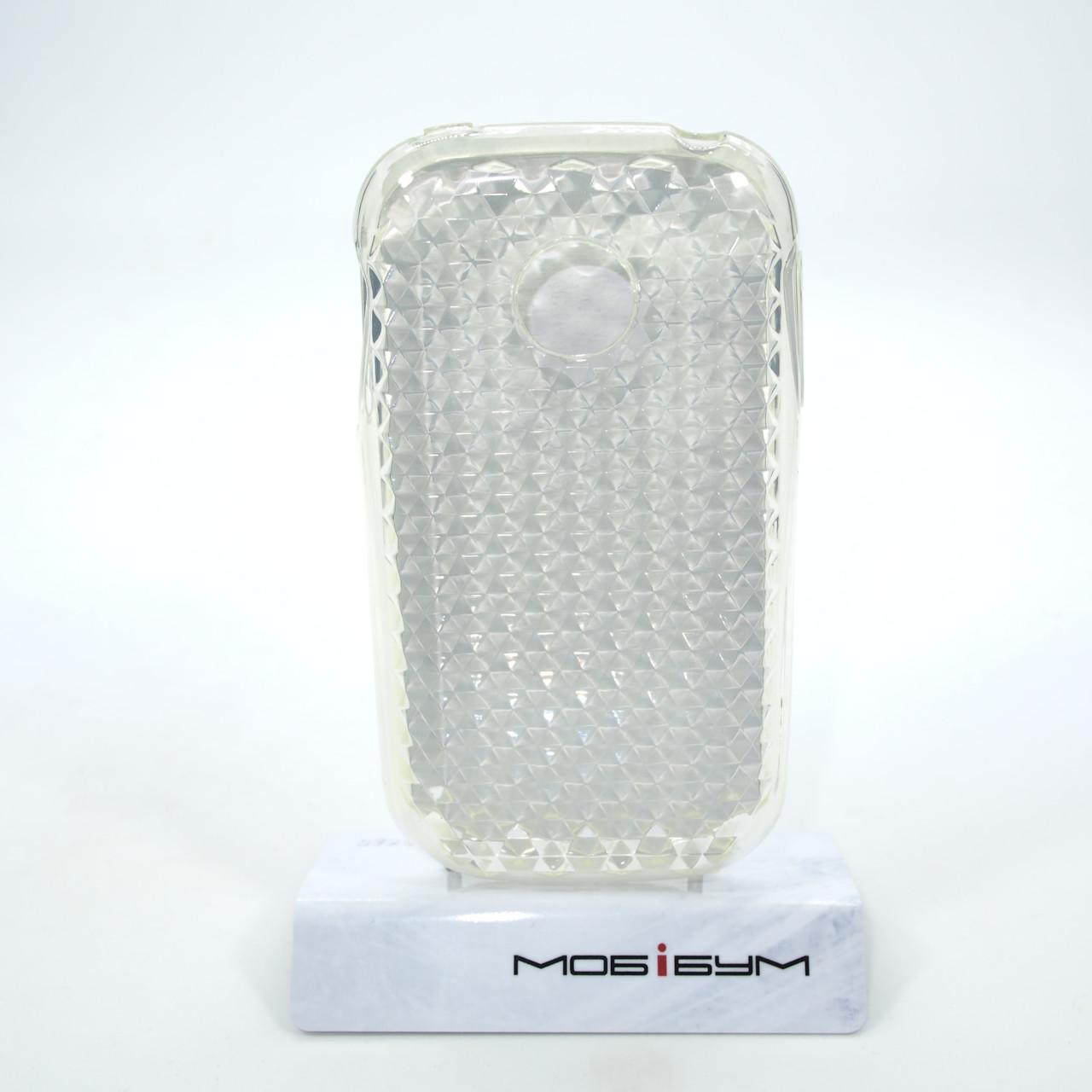 Чохол TPU LG Optimus P690 transparent домінують