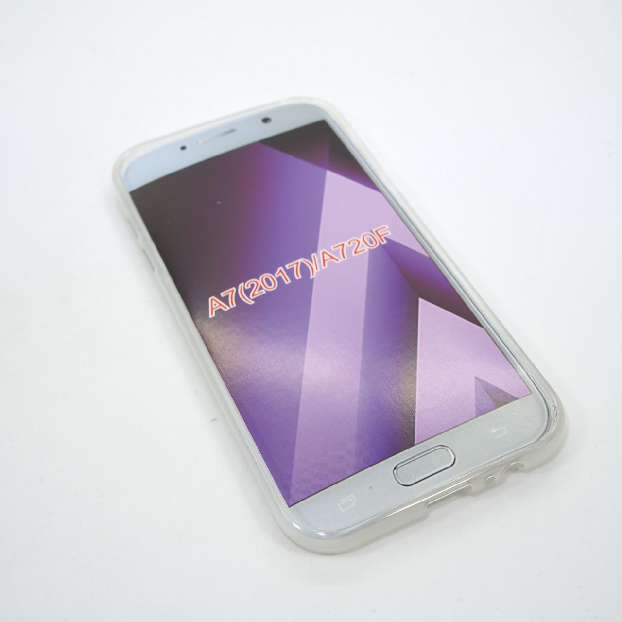 Чехол TPU Samsung A720 clear Galaxy A7 (A720) 2017