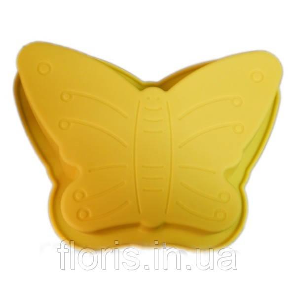 """Силиконовая форма для выпечки """"Бабочка"""""""