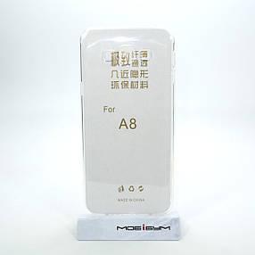 Чехол TPU Ultrathin 0.33mm Samsung Galaxy A8 soft-cle, фото 2