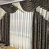 Комплект готовых штор с ламбрекеном №371, фото 4