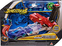 Набор Пускатель машинок Скричерс / Screechers Wild Screecher Speed Launcher Flipping Morphing Toy Car Vehicle