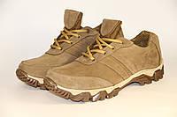 Тактические кроссовки из натуральной кожи Бекас беж