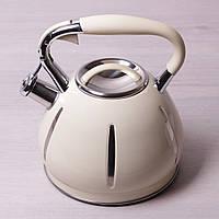 Чайник  со свистком 3 л.  Kamille  0691A