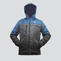 Мужская демисезонная куртка с капюшоном пр-во. Украина L814