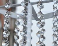 Акриловые кристаллы на кольцах для декора