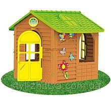 Ігровий будиночок садовий зелений