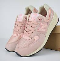Женские кроссовки New Balance 999 розовые. Живое фото (Реплика ААА+), фото 1