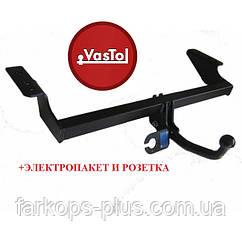 Фаркоп для AUDI A6 (C6) (sedan, universal) (включая S-line, Quattro, исключая RS) (2004-2011)