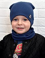 Дитячі комплекти шапка +хомут FASHION, фото 1