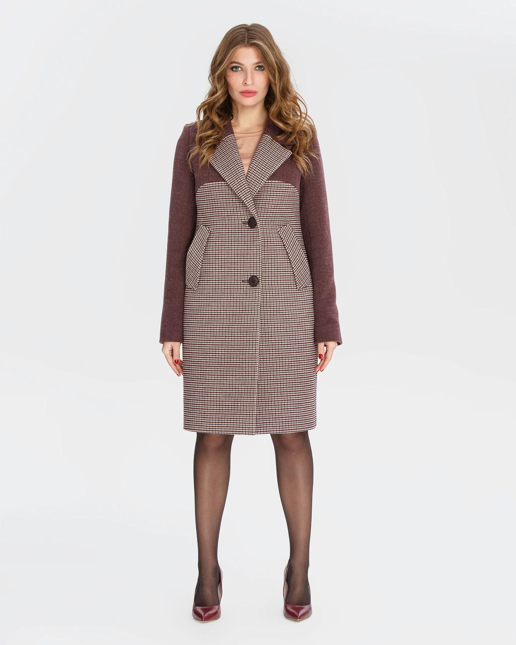 Классическое пальто с английским воротником
