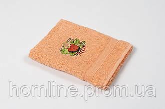 Рушник кухонне махровий Lotus Sun Apple помаранчевий 40*70
