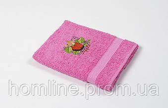 Рушник кухонне махровий Lotus Sun Apple рожевий 40*70