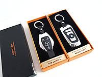 """Электроимпульсная USB зажигалка  зажигалка-брелок """"BMW"""", Mercedes-Benz, фото 1"""