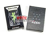 """Зажигалка """"Green Lizard"""" Zippo (оригинал, США) 21149"""