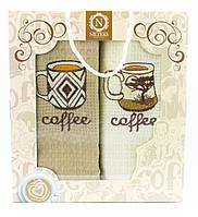 """Набір вафельних рушників для кухні """"Coffee"""", 2 шт., 40х60 см (Туреччина)"""