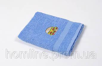 Рушник кухонне махровий Lotus Sun Burger блакитний 40*70