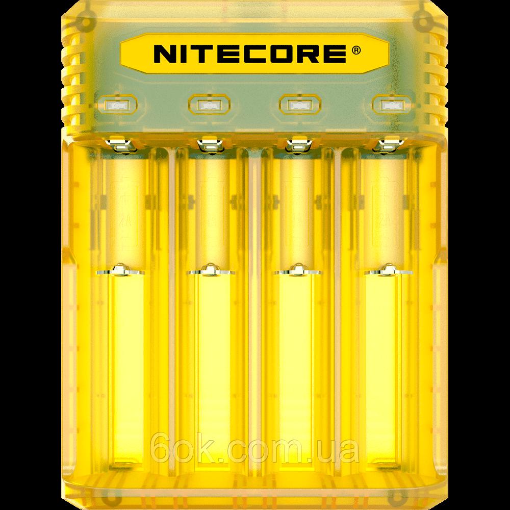 Зарядное устройство Nitecore Q4 четырехканальное