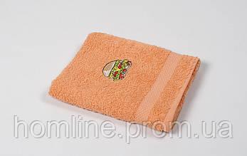 Рушник кухонне махровий Lotus Sun Burger помаранчевий 40*70