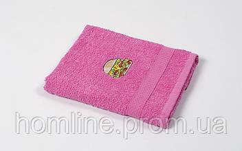 Рушник кухонне махровий Lotus Sun Burger рожевий 40*70